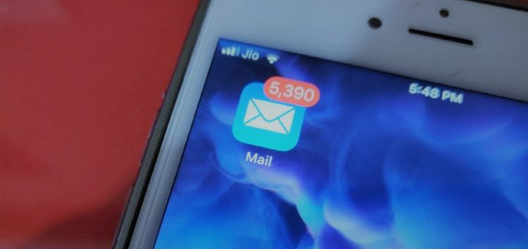 Mail sub folder push notifications not working in iOS 12? You aren't alone