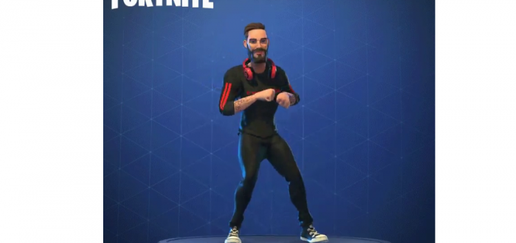 Here's fan made PewDiePie Fortnite skin + live T-Series YouTube sub comparison