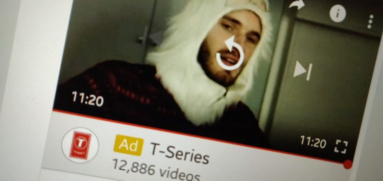 Silent moves? T-Series ads appearing on PewDiePie videos