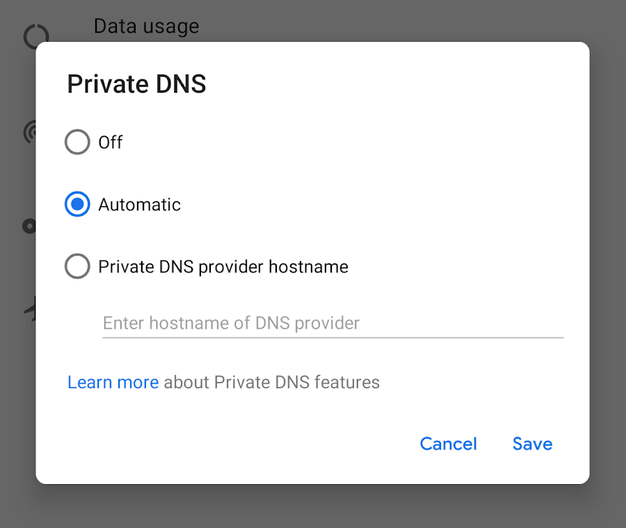 Fix incoming: Soft reboots with AdGuard DNS on Android Pie's Private DNS