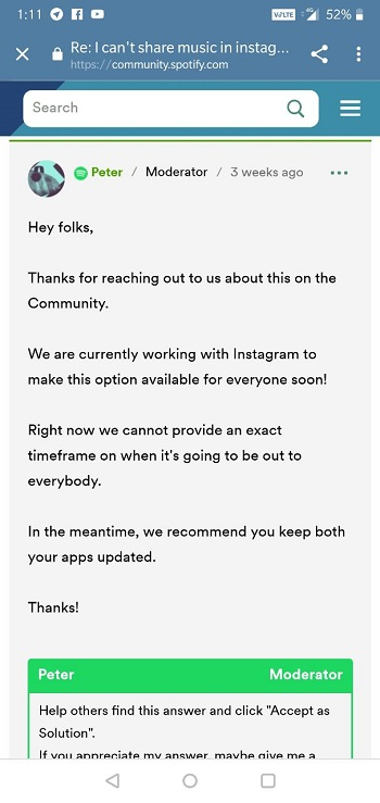 Updated] Music won't play on Instagram story? Lot of users