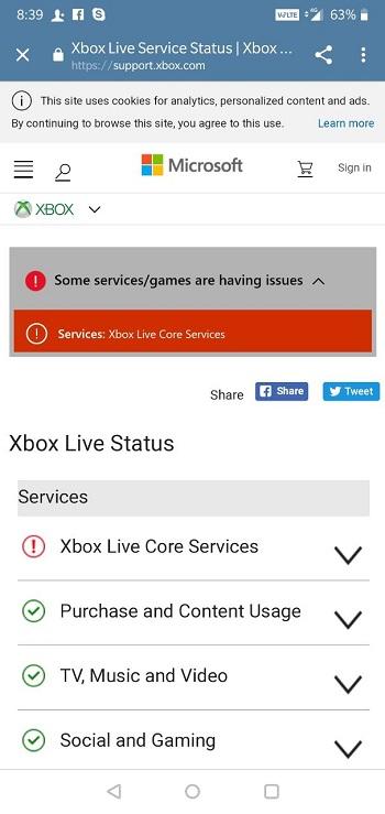 xbox live status - photo #5