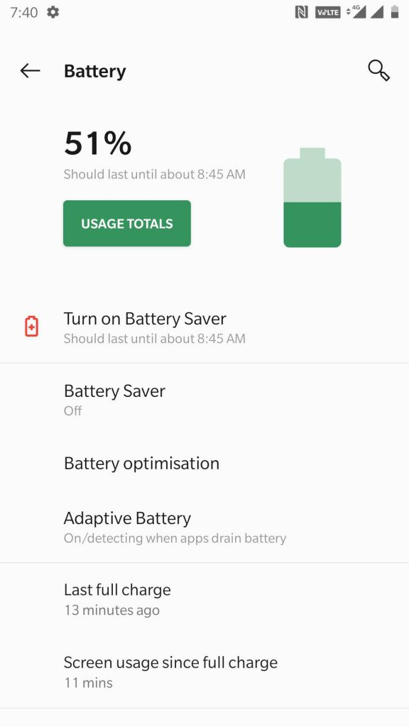 oneplus_3_3t_oos_pie_closed_beta_battery