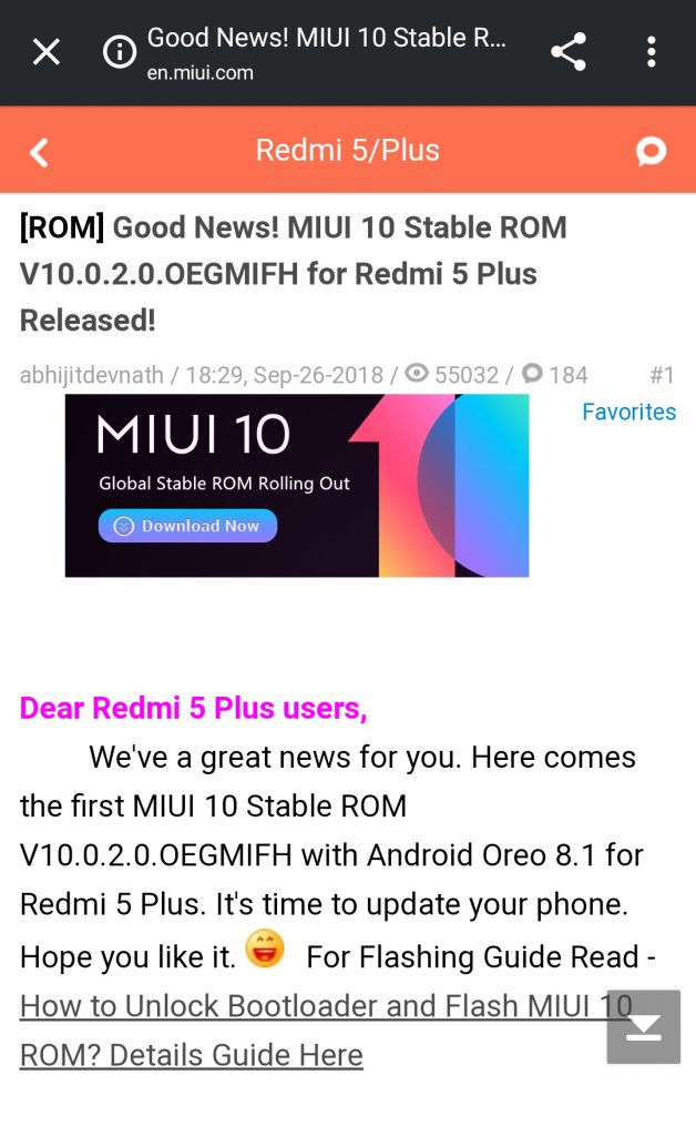redmi_note_5_india_oreo_ota_thread