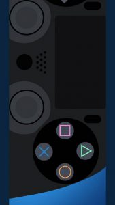 galaxy-s10-cutout-gamers-remote-wallpaper