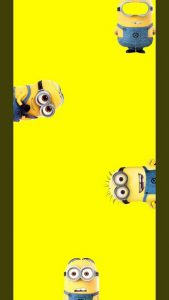 galaxy-s10-cutout-minions-wallpaper