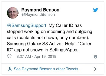 Updated] Samsung Galaxy S8 & Note 8 Caller ID not working