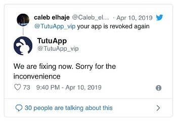 tutu-app-revoke-issue-update1