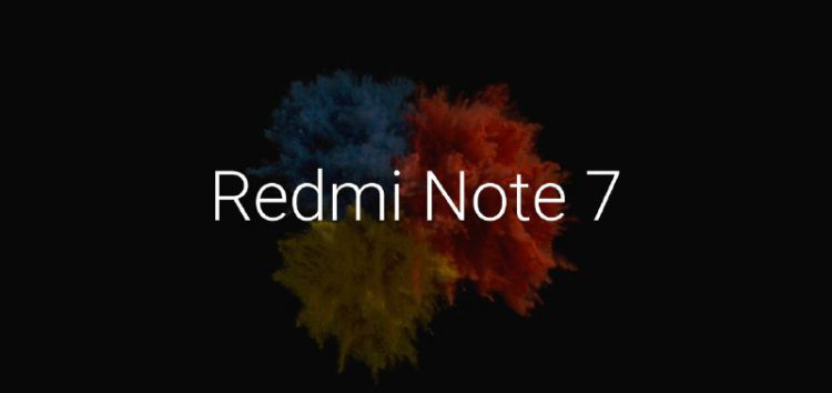 Xiaomi Redmi Note 7 hide notch and full screen support arriving soon