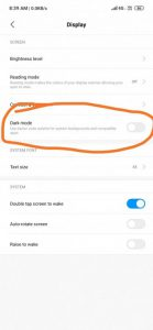 Redmi-Note7-MIOUI10.3.5.0-update-India-darkmode
