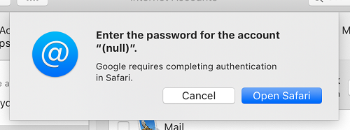 Updated] macOS Mojave Gmail bugs: authentication failure likely