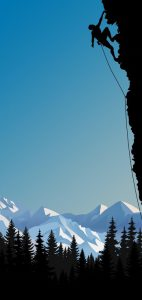 galaxy-s10-punch-hole-cutout-mountain-climber-wallpaper
