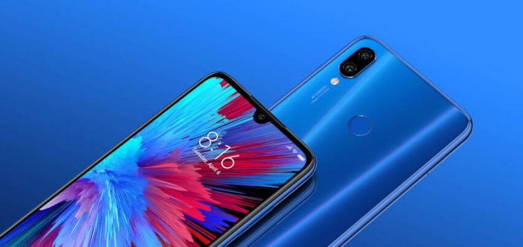 [Limited rollout] Xiaomi Redmi Note 7 MIUI 10.3.5.0 update arrives in India with Dark mode, Hide notch & app Face unlock support