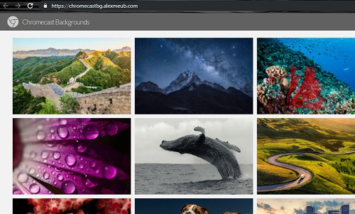 Can 39 t find chromecast background picture details here 39 s a potential workaround piunikaweb - Chromecast backgrounds download ...