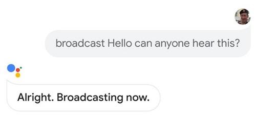 google-assistant-broadcast-bug