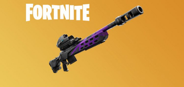 Fortnite Storm Scout Sniper Rifle may get disabled for Fortnite World Cup Finals