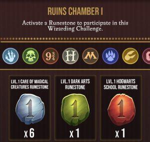 Wizards Unite Potter's Calamity Runestones