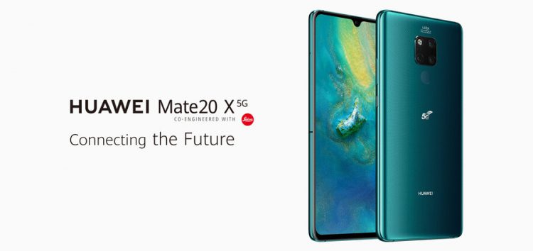 Huawei Mate 20 X 5G gets rid of 3.5 mm headphone jack, new renders & official listing reveal