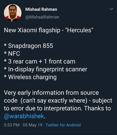 xiaomi_hercules_mishaal_tweet