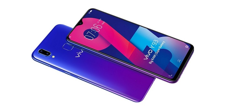 Vivo Y93 August security update (v1.10.8) optimizes compatibility with 3rd-party apps, network, & more