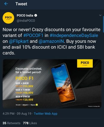 poco_f1_india_independence_day_sale_tweet