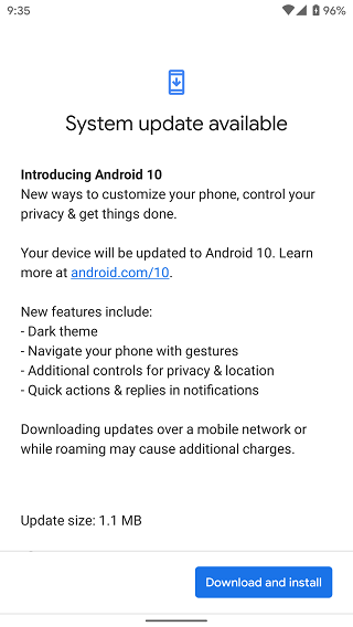 Gogole-Pixel-2-new-update