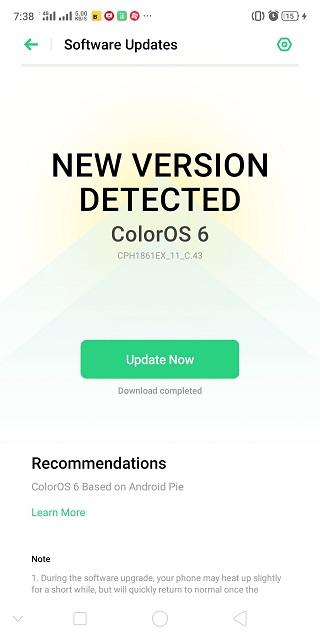 Realme-1-Aug-update