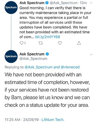Spectrum-down-tweet