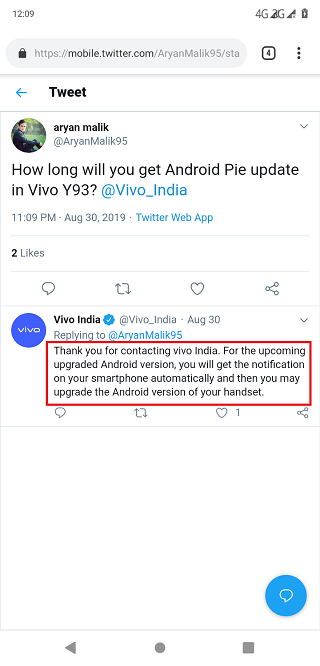 Vivo-Y93-Pie-update