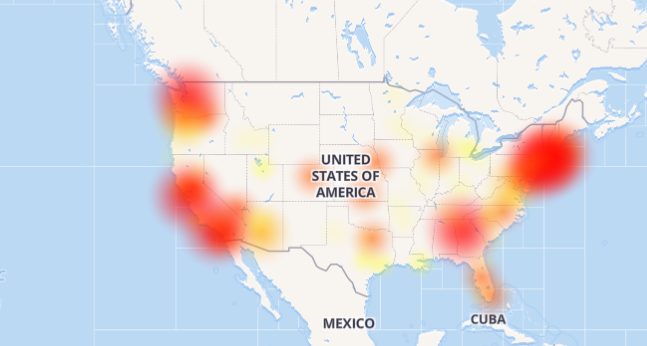 Yelp outage