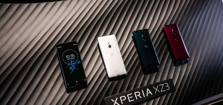 Sony Xperia XZ3 September security update hitting global units