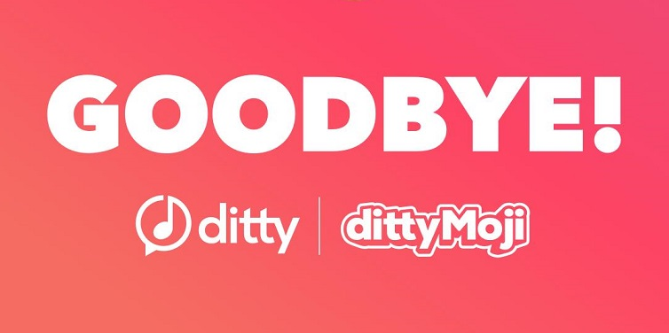Ditty to shutdown tomorrow, download your dittys says team Zya