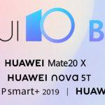 Huawei releases EMUI 10 beta (Android 10) for Mate 20 Series, Nova 5T, P Smart+, P Smart 2019, & P30 Lite globally