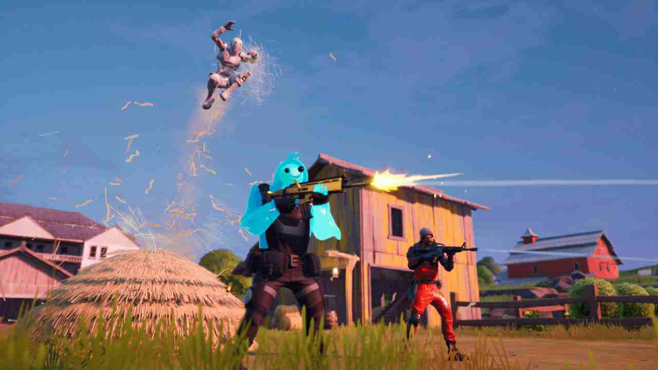 Fortnite Risky Reels event : Digging machines have replaced cars