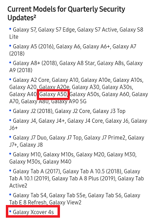 Galaxy-A50-quarterly-updates