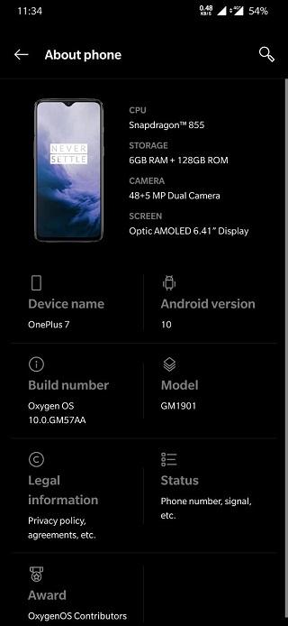 OnePlus-7-OxygenOS-10-update
