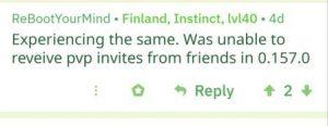 Pokemon Go PVP Invites