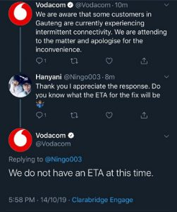 Vodacom-connection-issues