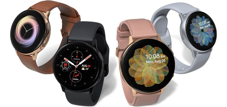 Samsung Galaxy Watch Active 2 update enables touch bezel setting by default, fixes GPS bug, & more