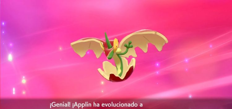 Pokemon Sword and Shield : How to evolve Applin in the game