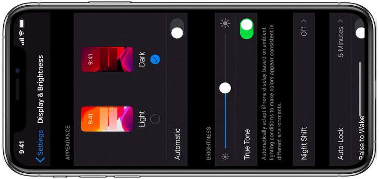 Brightness sensitive Dark Mode toggle on iOS 13 comes with this jailbreak tweak