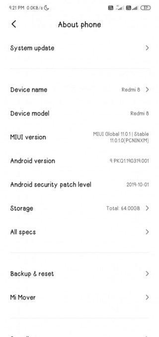 redmi_8_miui_11.0.1.0_about_device