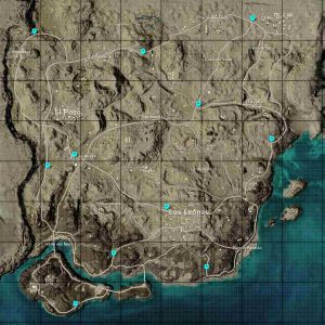 PUBG Motor Glider Spawn Locations