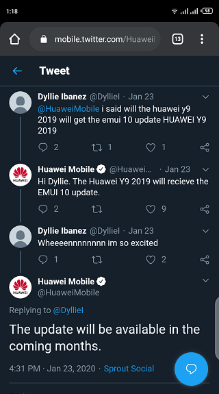 Huawei-Y9-2019-Android-10-update-is-coming-after-all