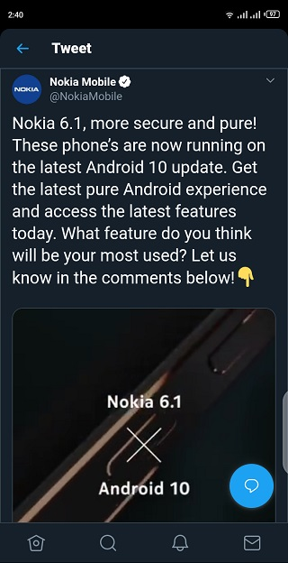 Nokia-6.1-Android-10-update-2