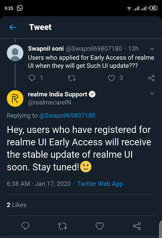 Realme-UI-early-access
