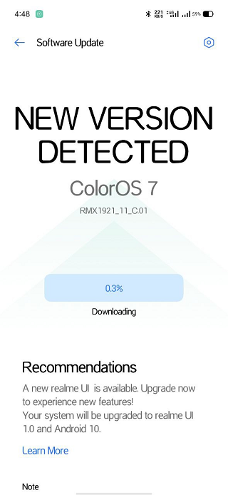 Realme-XT-Android-10-update-released