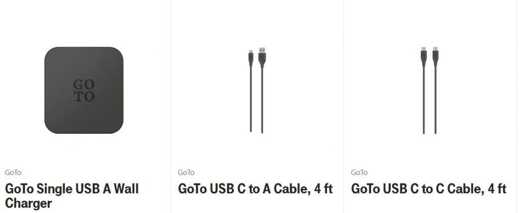 charger goto