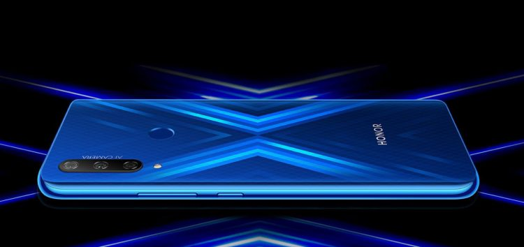 Honor 9X EMUI 10 (Android 10) update rolls out