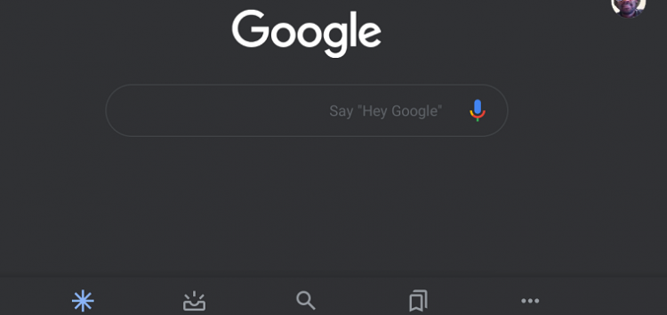 Google app Dark theme is back in the latest version 10.95 (beta) & above